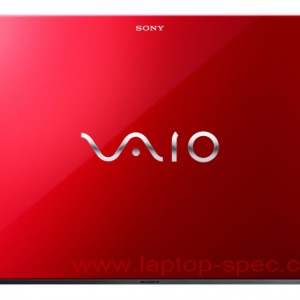 SVP1321BPXR Vaio Pro 13 Red Edition Back Side