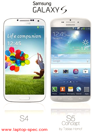 Samsung Galaxy S4 S5 Comparison